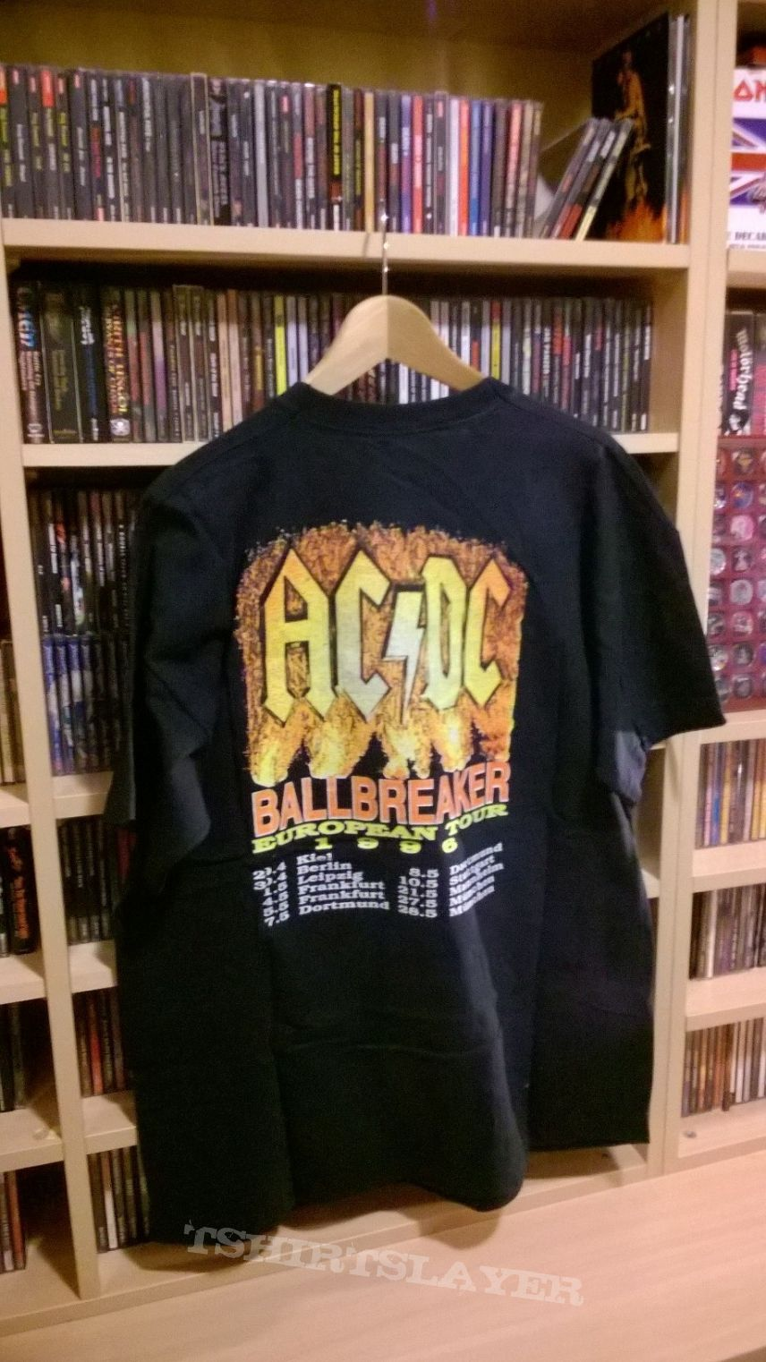 Ac-dc Ballbreaker Tour Europe 1996