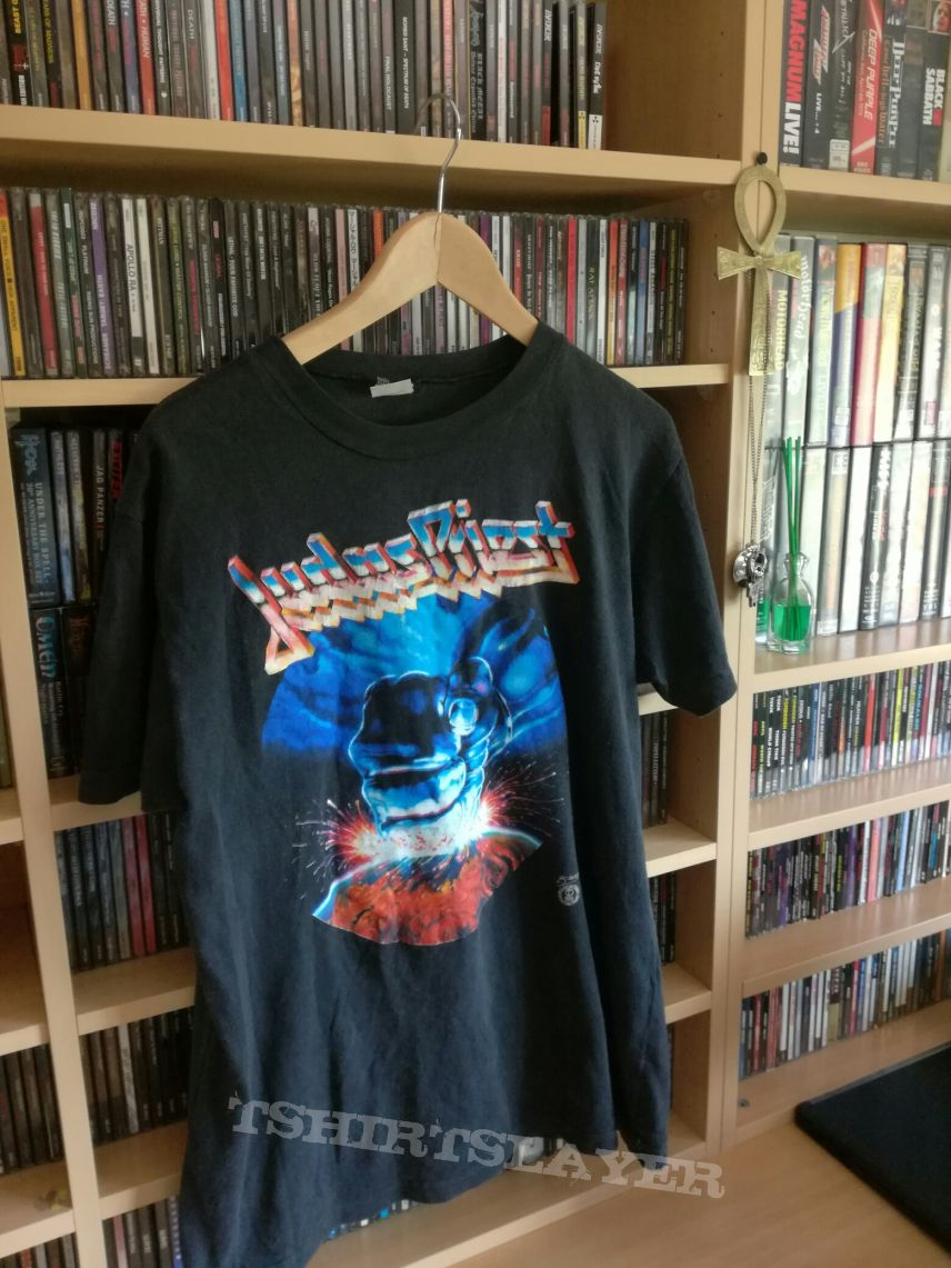 Judas Priest Shirt Raw It Down European Tour 1988