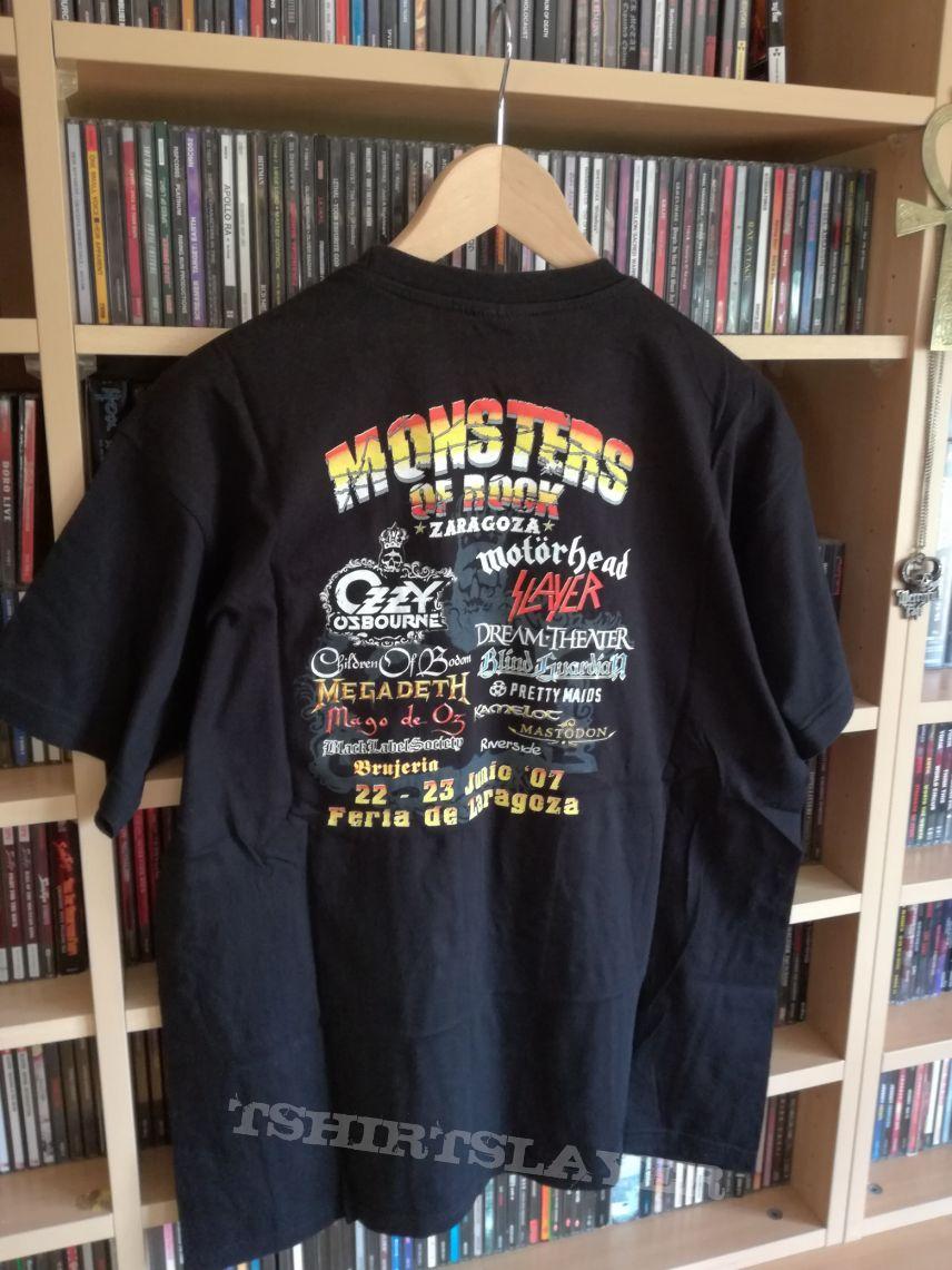 Monster Of Rock Festival 2007 Shirt