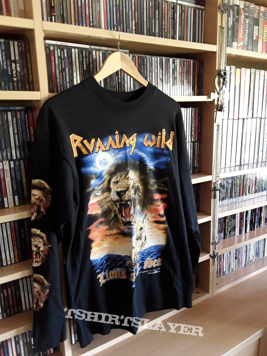 Running wild Lions of the sea official shirt