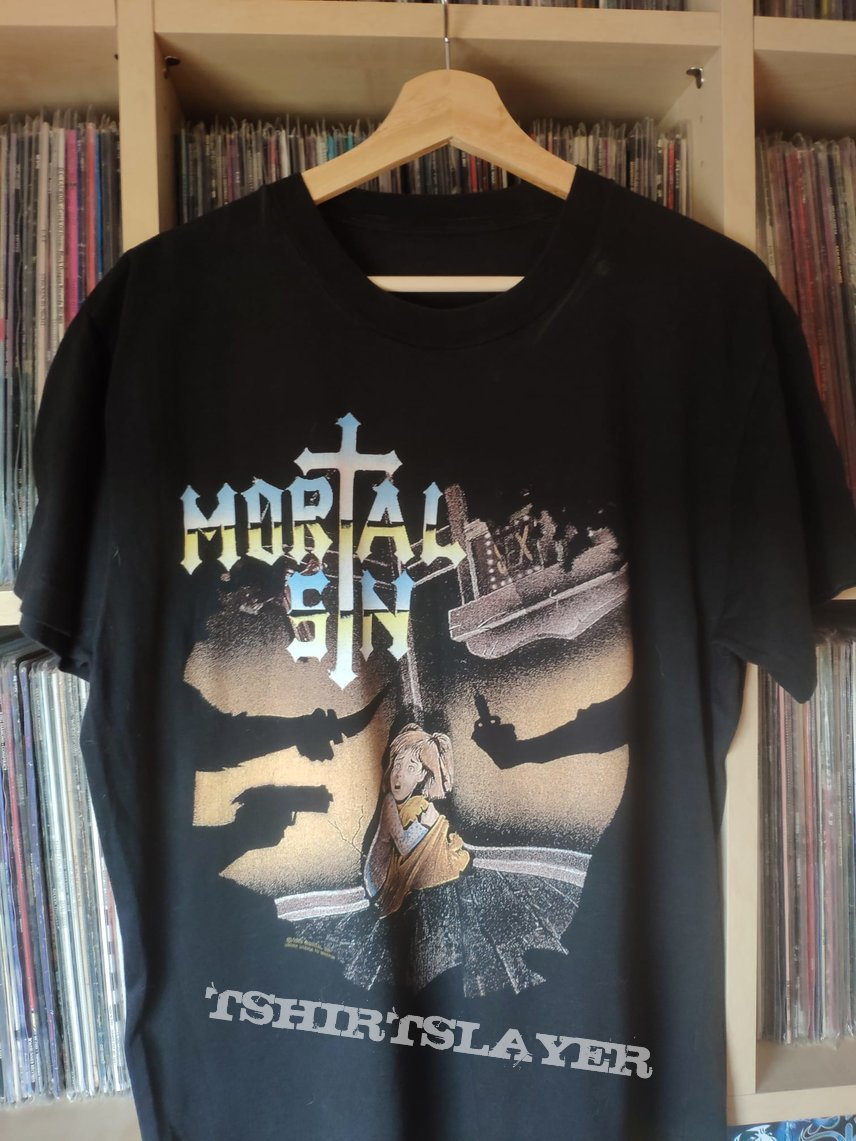 Mortal sin Face of Dispair tour shirt