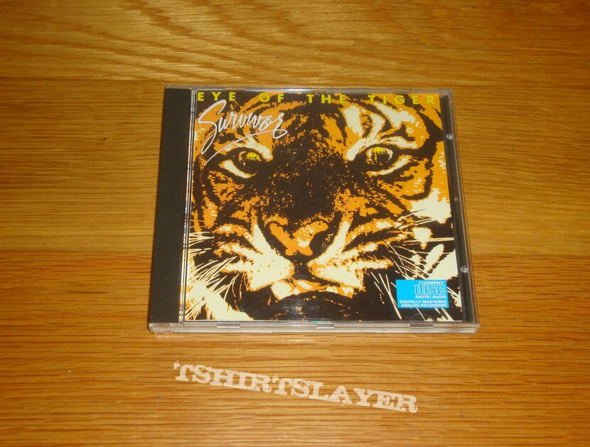 Survivor - Eye Of The Tiger CD