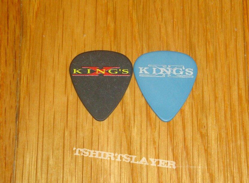 King's x Guitar Picks