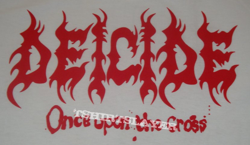 Deicide - Once Upon The Cross Shirt