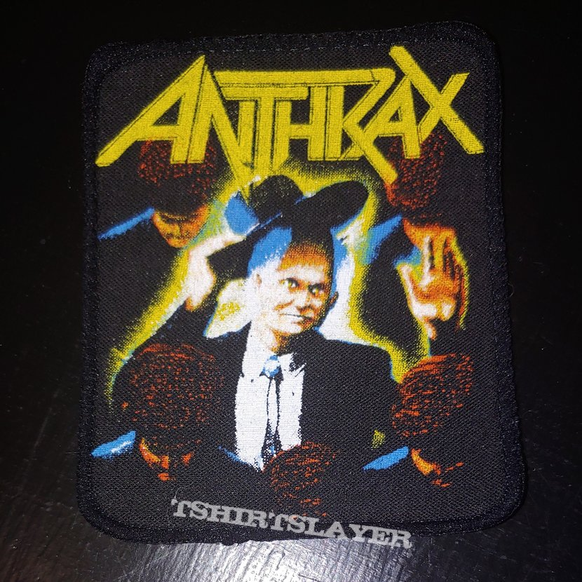 Anthrax - Among the Living Printed Patch