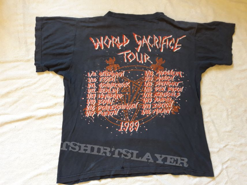 1989 Slayer Tour T