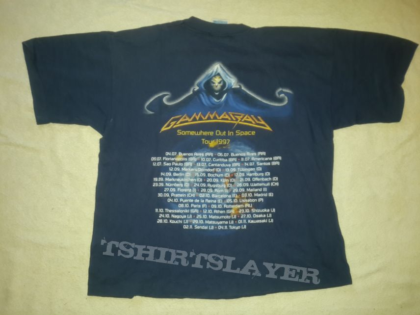 1997 Gamma Ray Tour T