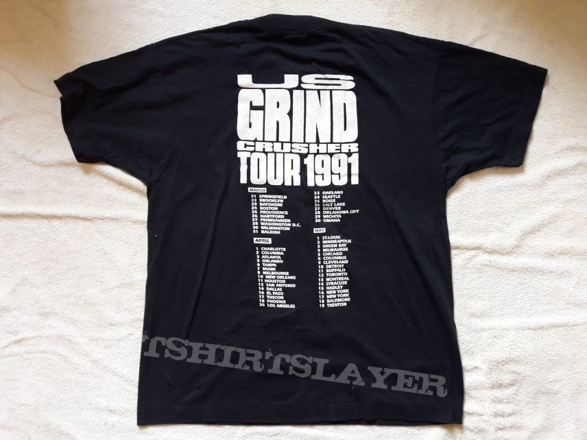 1991 Napalm Death Tour T