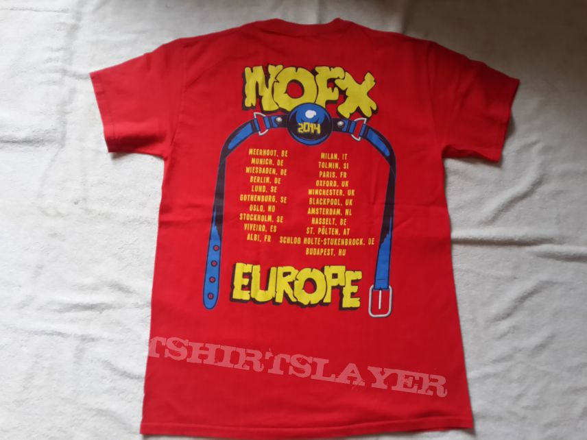 2014 NOFX Tour T