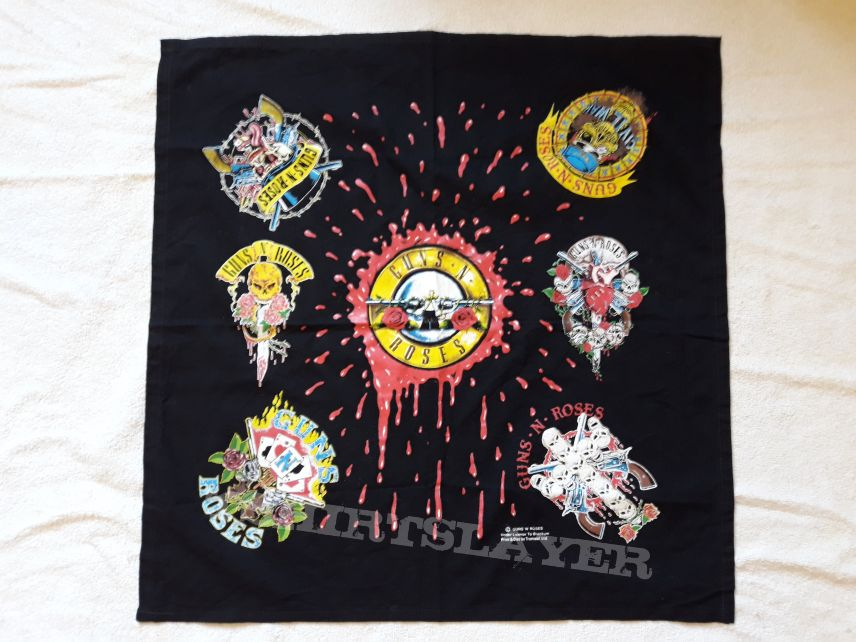 1992 Guns N Roses Bandana