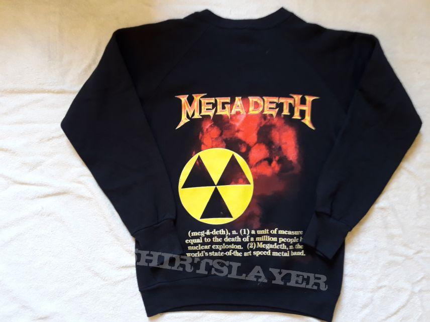 1987 Megadeth Sweater