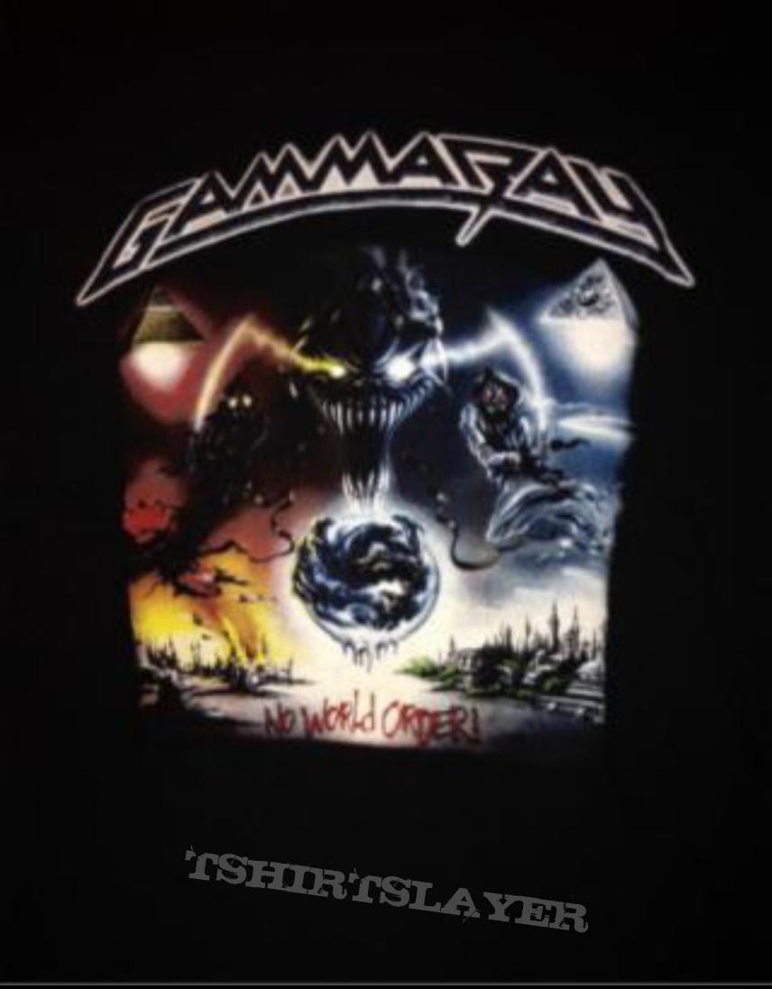 Gamma Ray Tour Shirt Tshirtslayer Tshirt And Battlejacket
