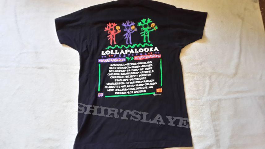 1993 Lollapalooza Tour Shirt