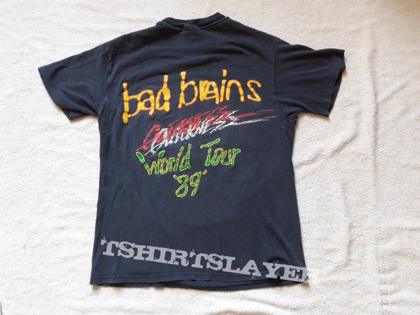 1989 Bad Brains Tour Tee