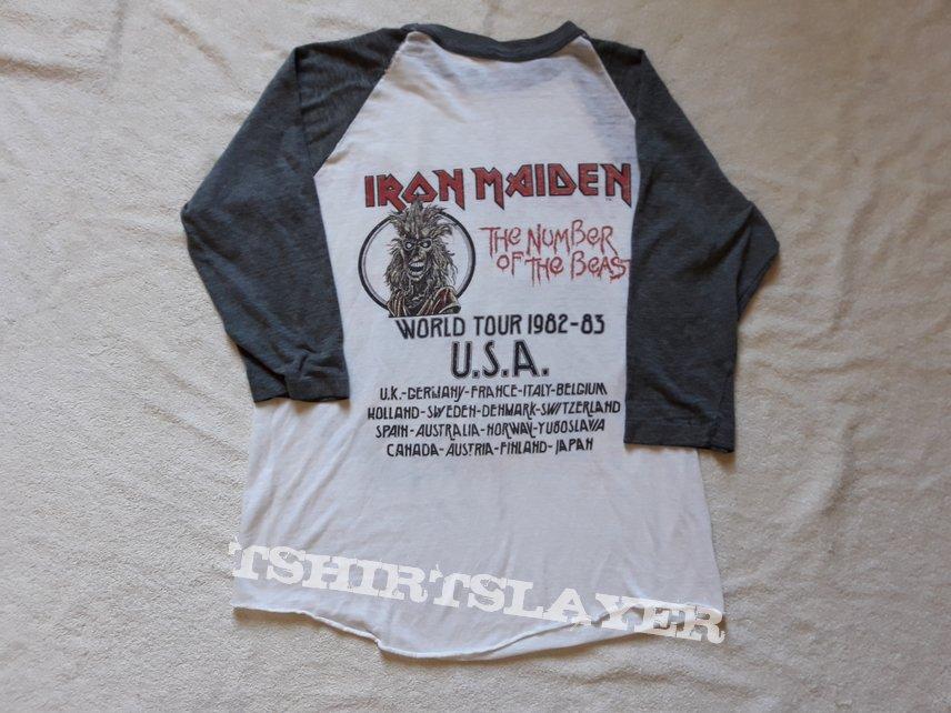 1982 Iron Maiden Tour Tee