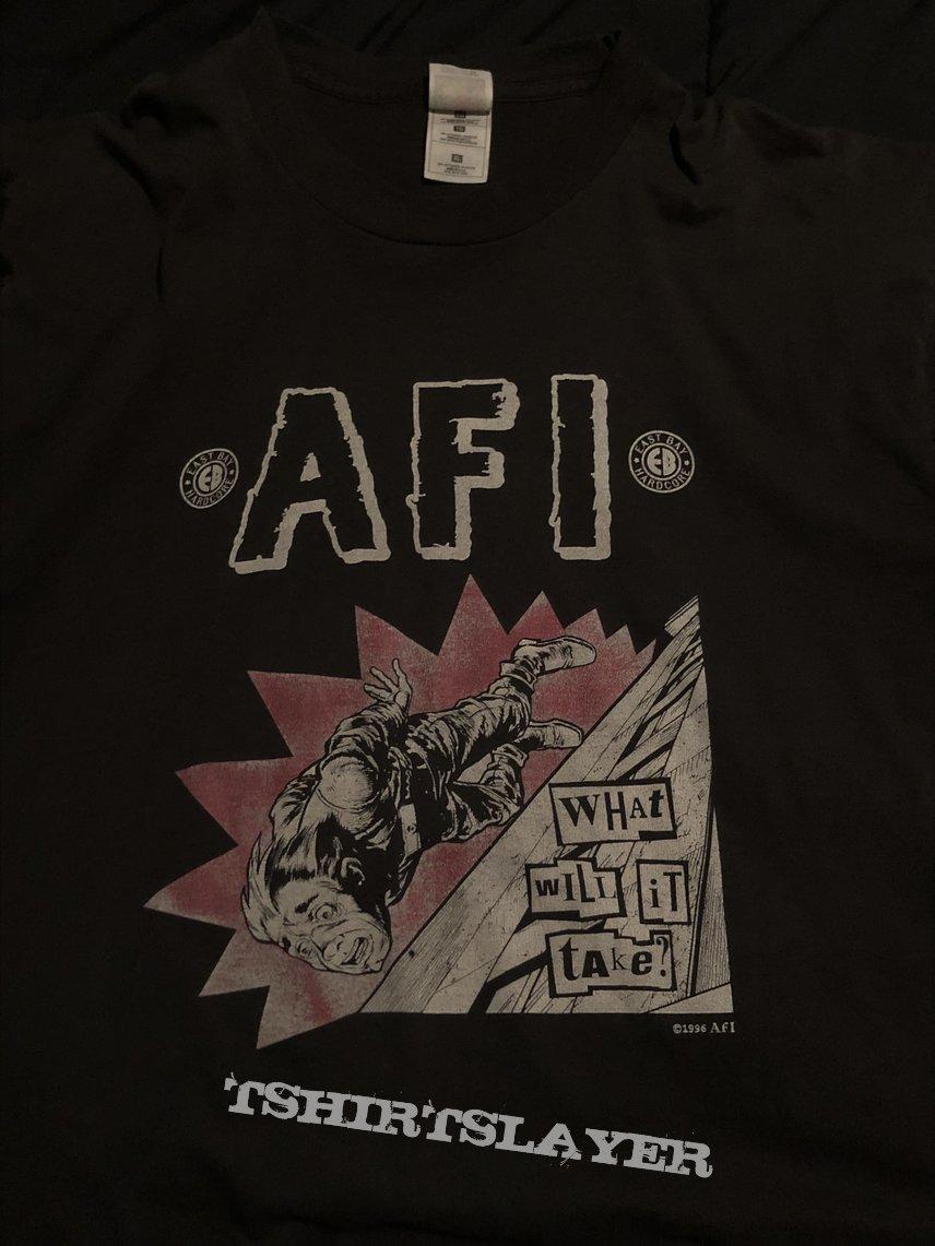 "AFI ""What Will It Take?"" shirt"