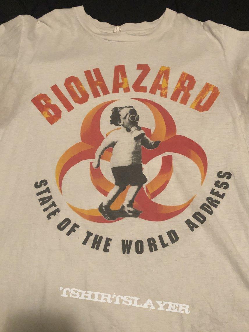 "Biohazard ""State of the World Address"" Shirt"