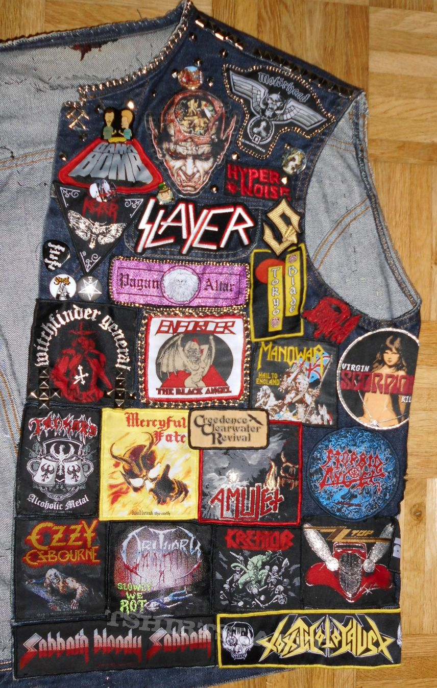 My Battle Jacket, October 2016