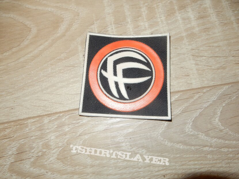 Fear Factory rubber patch for SolveMyMath