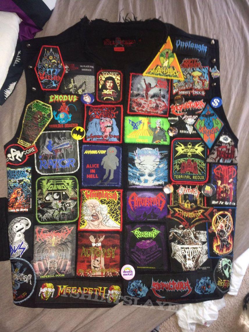 The battlejacket I never had