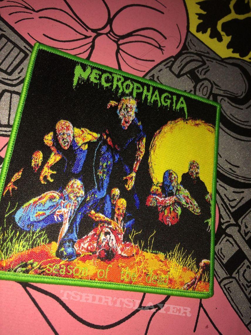 Necrophagia Patches