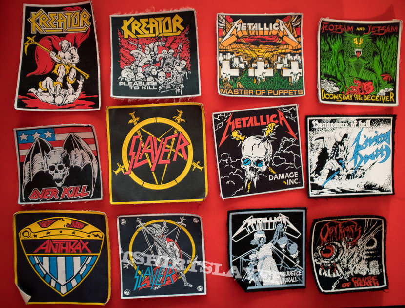 Vintage rubber patches - collection