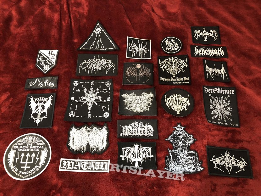 Official B&W Patches - Embroidered & Printed