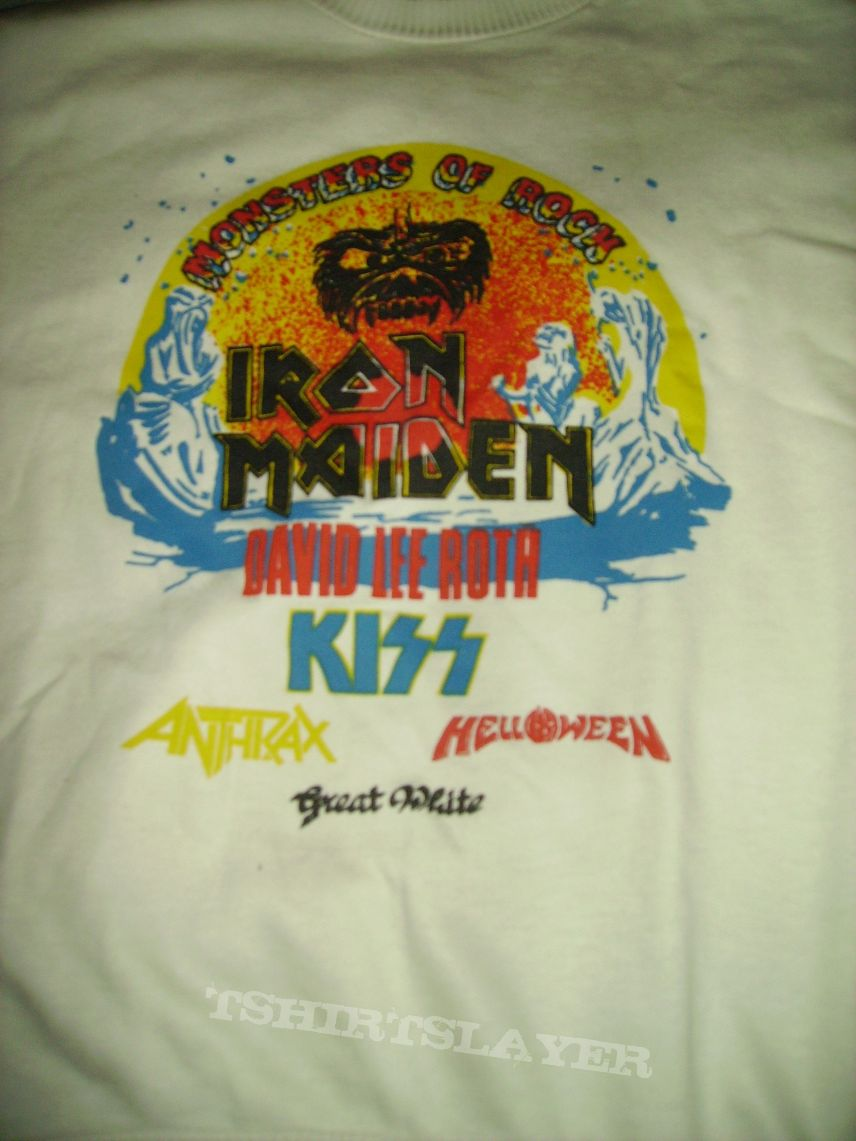 Monsters of rock 1988 White Hoodie