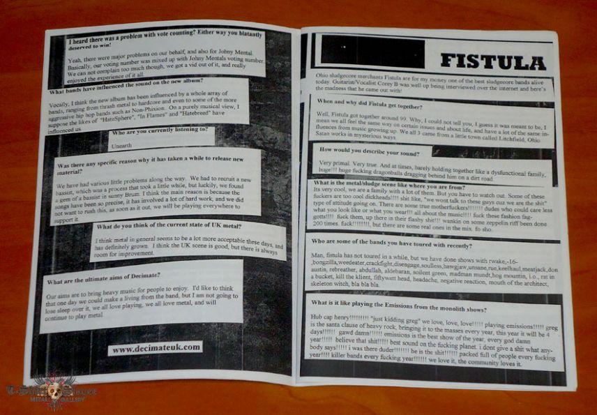 Load of Noise - March 05 - Fanzine