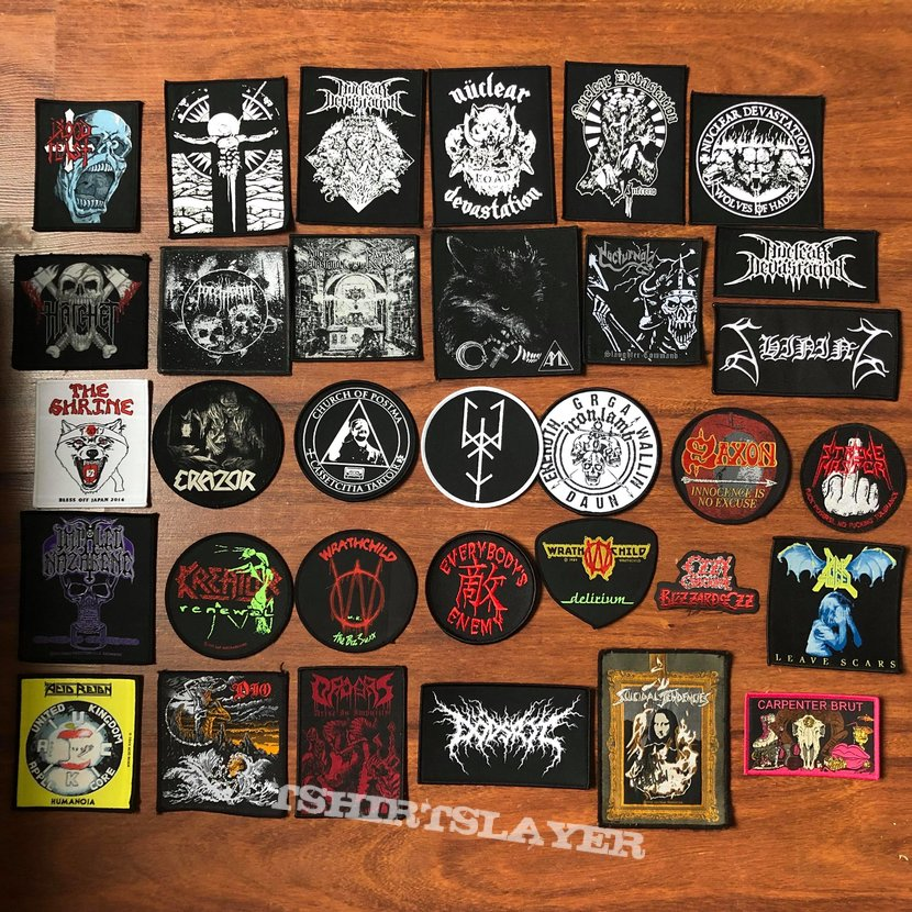 Multiple woven patches