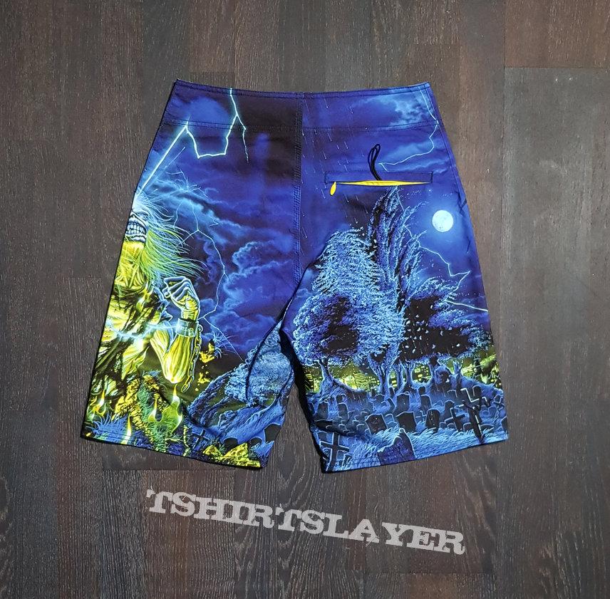 Iron Maiden - Live After Death Swim Shorts
