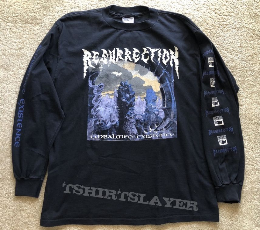 Resurrection - Embalmed Existence LS 1993 Nuclear Blast America version