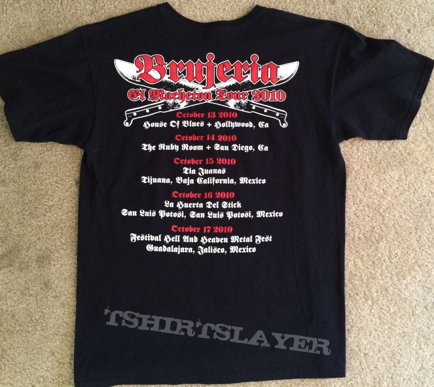 Brujeria TShirt from 2010 Tour