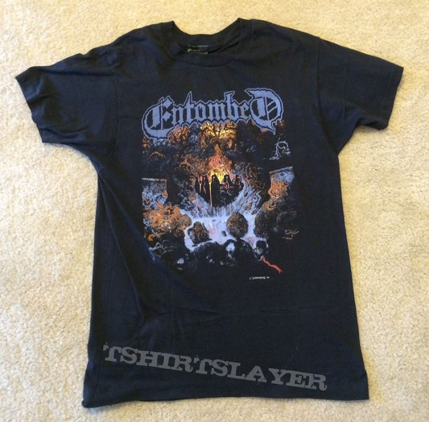 Entombed Clandestine Shirt 1991