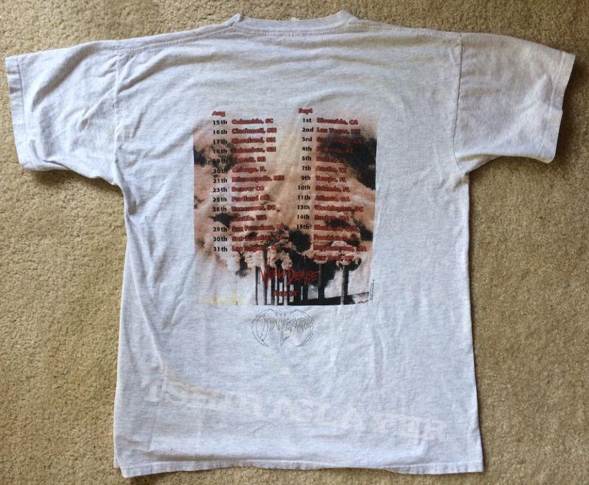 Obituary World Demise Tour Shirt 1994