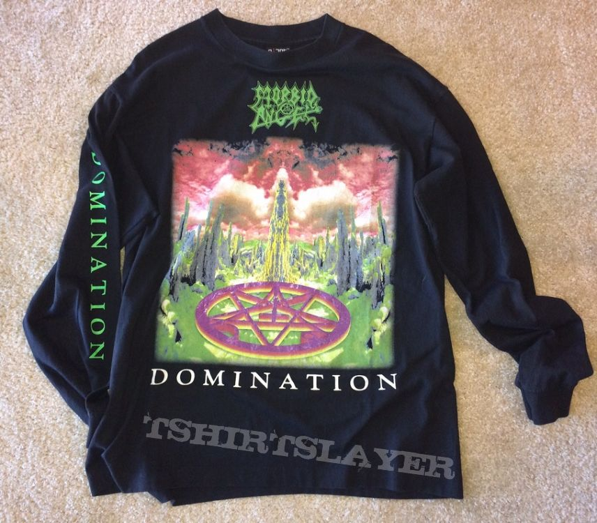 Morbid Angel Domination tour LS 1995