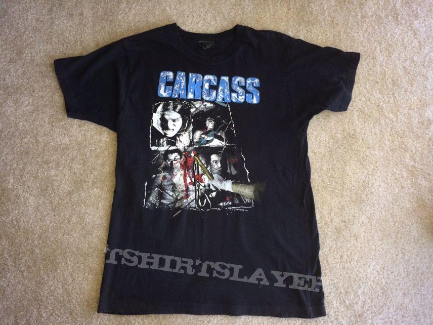 Carcass Necroticism Shirt 1992 (sold)
