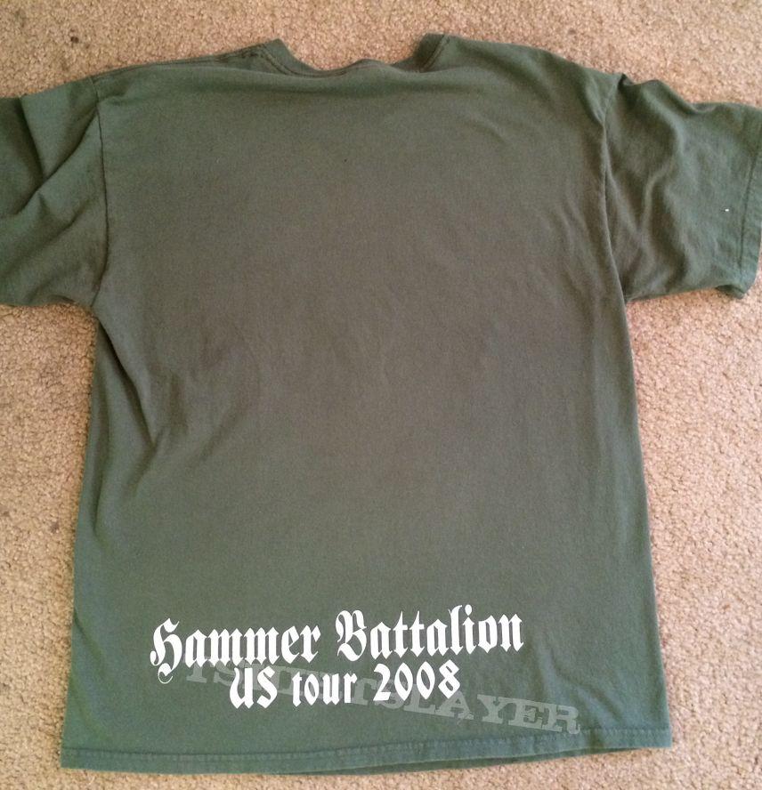 Unleashed Hammer Battalion TShirt 2008
