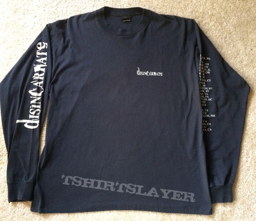 Disincarnate - Dreams of the Carrion Kind Tour LS