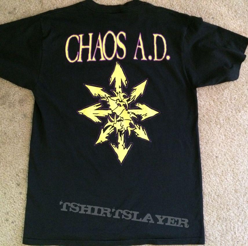 Sepultura Chaos AD TShirt