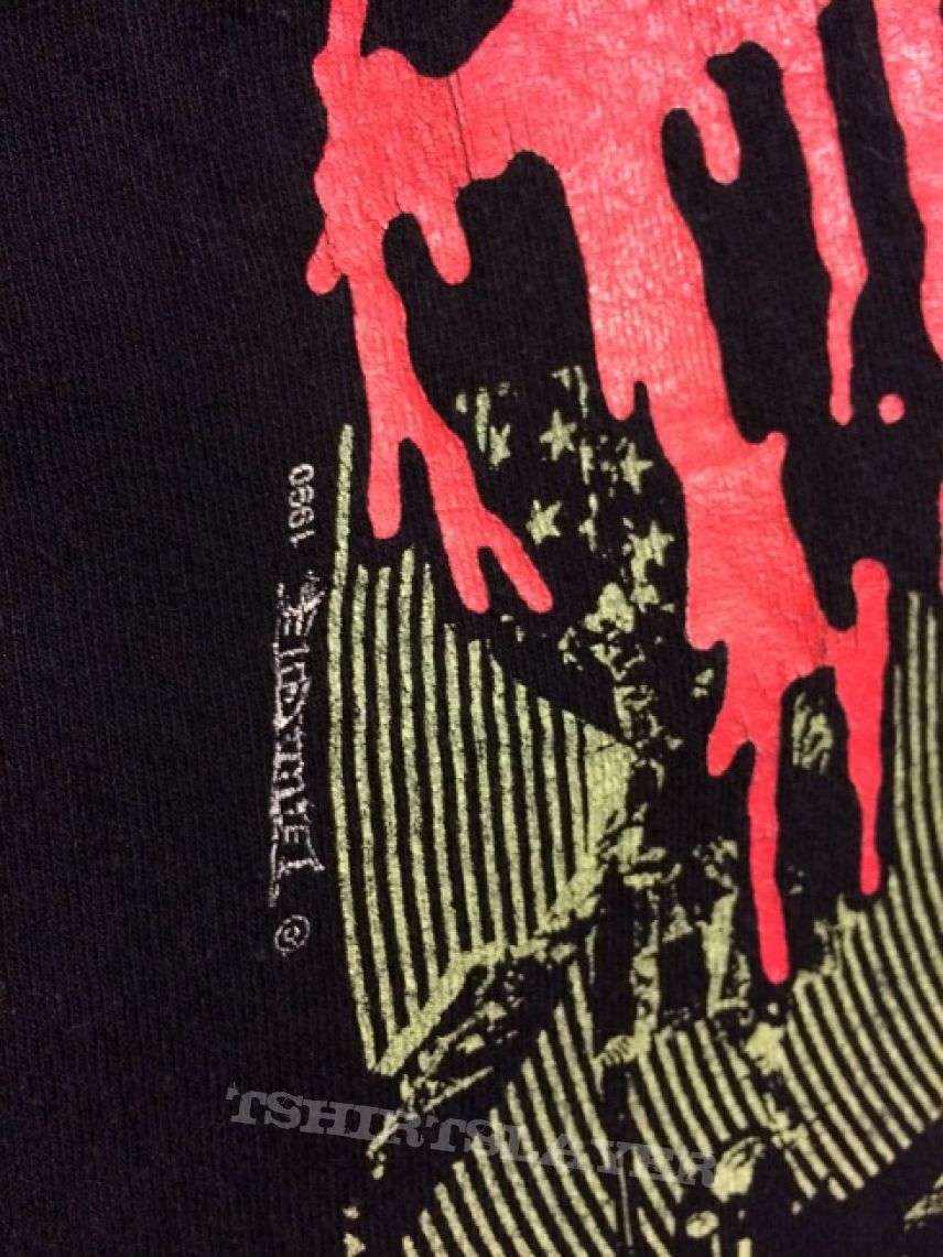 Terrorizer World Downfall shirt Earache 1990 (sold)