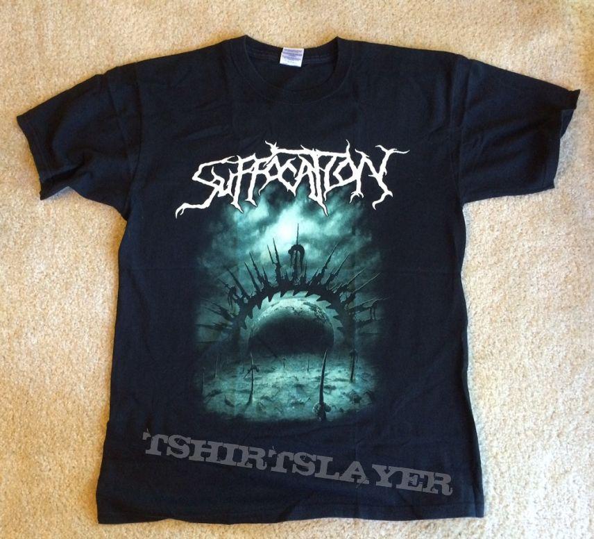 Suffocation 2008 UK Tour shirt