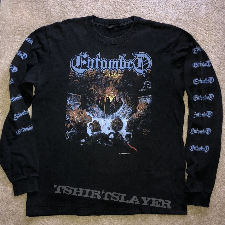 Entombed Clandestine LS 1991 Earache