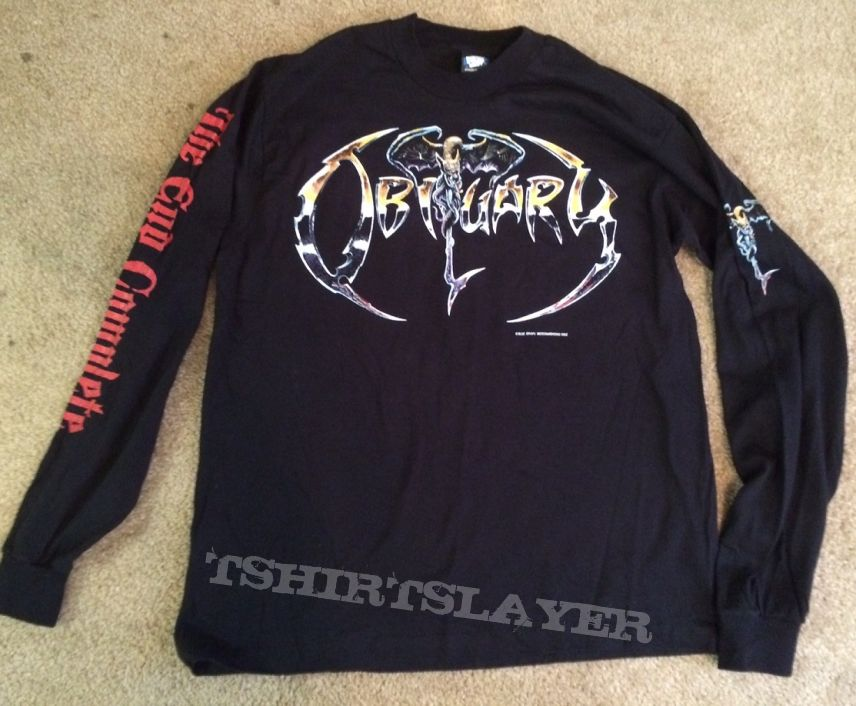 Obituary Longsleeve The End Complete 1992