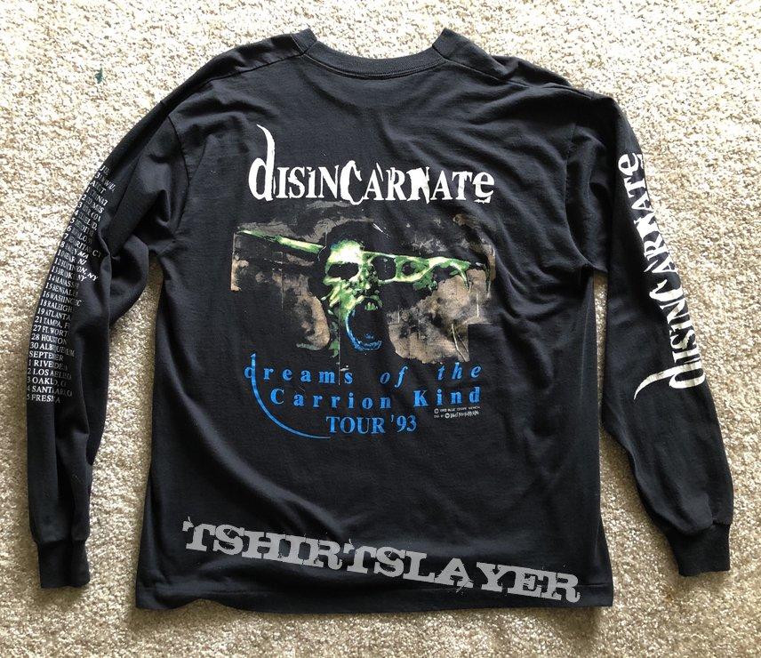 Disincarnate - Dreams of the Carrion Kind Tour LS Blue Grape 1992