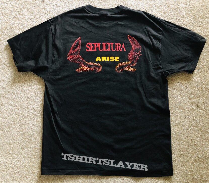 Sepultura - Arise Shirt Blue Grape 1991