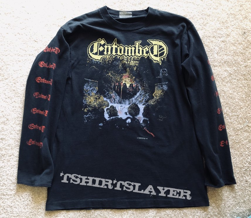 Entombed Clandestine LS Earache 1991