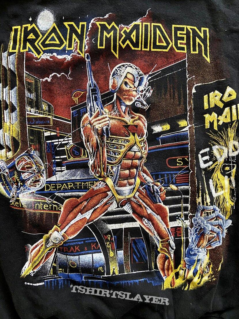 Iron Maiden - Somewhere In Time 1986 Fan Club Sweatshirt