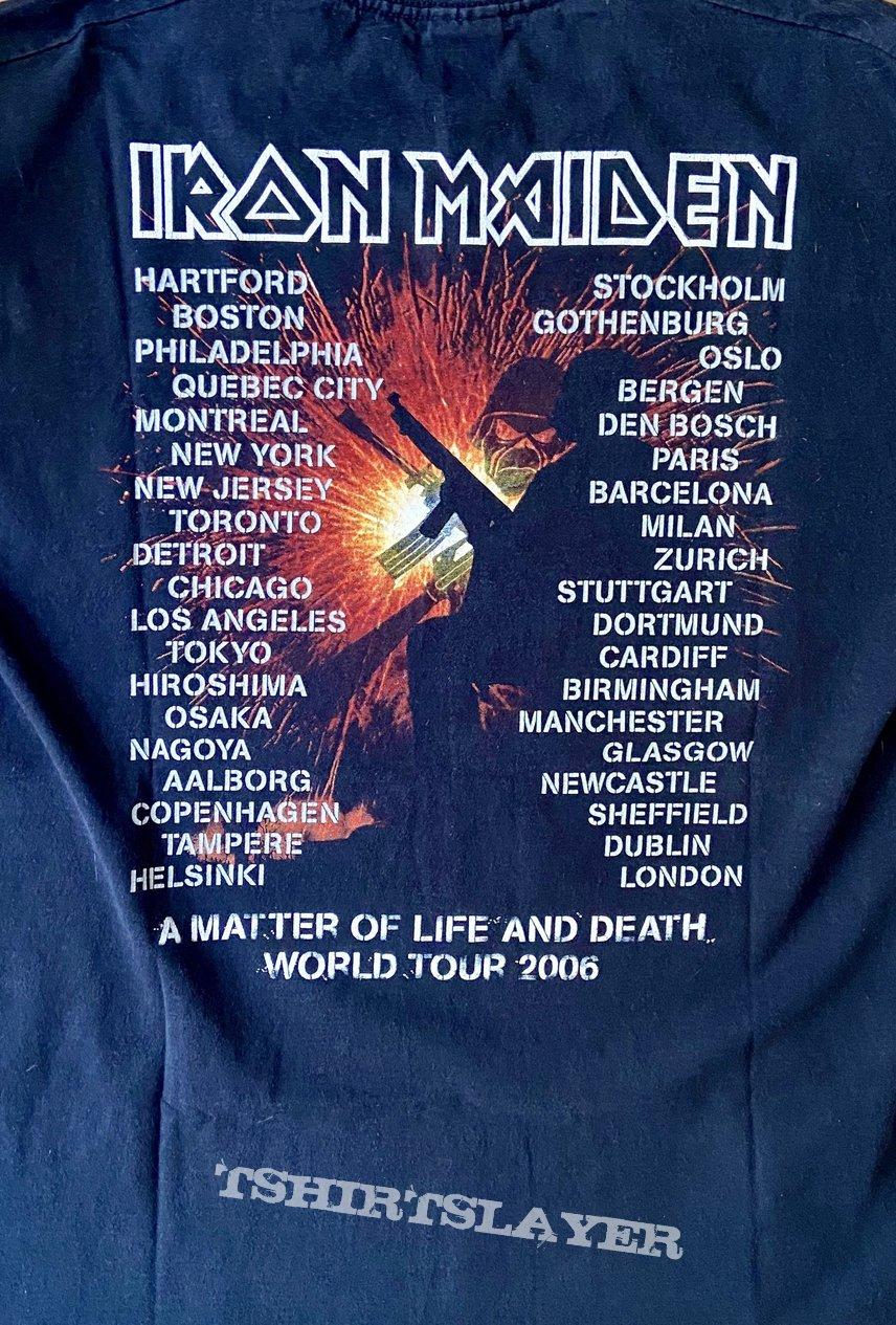 A Matter of Life and Death Tour Shirt