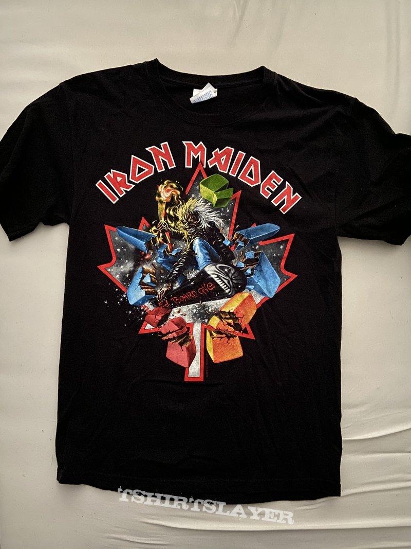 Iron Maiden - The Final Frontier Tour Canada Event Shirt